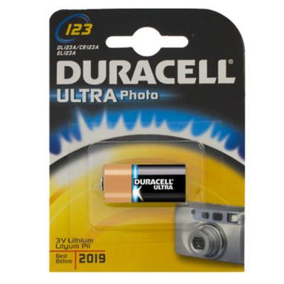 Pila al litio Duracell ultra 3V DL123A