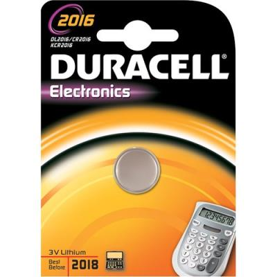 Pila bottone al litio Duracell 3V DL2016